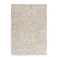 Handgefertigter Teppich Flash 501 in Elfenbein