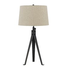 "Tripod 3 Way 32.5"" H Table Lamp with Empire Shade"