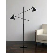 """Pescara Metal 60"""" Task Floor Lamp"""