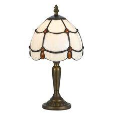 "Tiffany 13"" H Table Lamp with Bowl Shade"