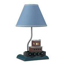"""Fishboat 20"""" H Table Lamp with Empire Shade"""