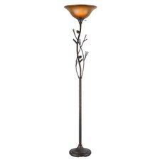 "Pine Cone 72"" Torchiere Floor Lamp"