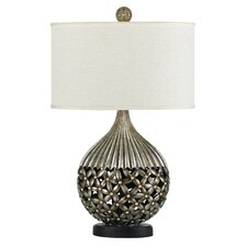 """Biella 29"""" H Table Lamp with Drum Shade"""
