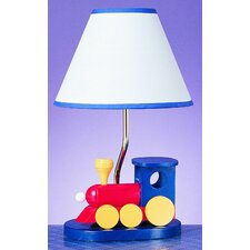 """Train 15"""" H Table Lamp with Empire Shade"""