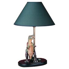 "Tyrannosaurus 15"" H Table Lamp with Empire Shade"