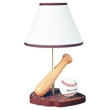 "Juvenile Baseball 15"" H Table Lamp with Empire Shade"