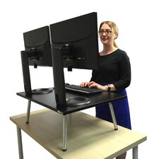 "The Executive Stand Steady Standing Desk, Stand up Desk, 32"" x 22"" desktop"