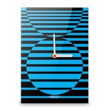 Wanduhr Circles Illusion XXL