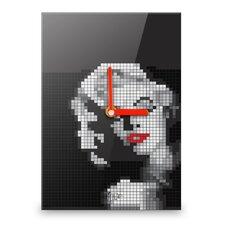 Wanduhr Marilyn Monroe Mosaic
