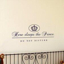 Wandtattoo Prince