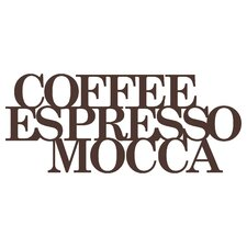 Wandtattoo Coffee - Espresso - Mocca