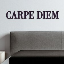 Wanddekoration Carpe Diem