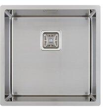 44 cm x 44 cm Küchenspüle
