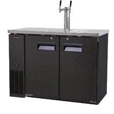 Dual Tap Built-In/Freestanding Beer Dispenser