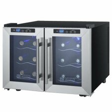 Cascina 12 Bottle Dual Zone Wine Refrigerator