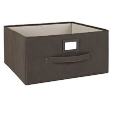Large Fabric Drawer with Write-On Label