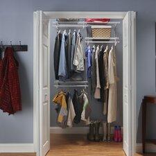 "ShelfTrack 48"" - 72"" Wide Adjustable Closet System"