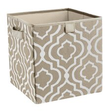 Premium 2 Handle Storage Bin in Graystone