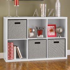 "Decorative 6-Cube Storage 30"" Cube Unit Bookcase"