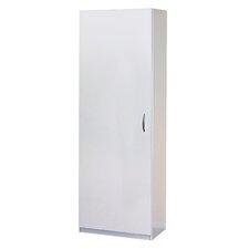 "71.73"" H x 24.02"" W x 14.81"" D Flat Panel Single Door Storage Cabinet"