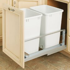 8.75 Gallon Pull-Out Waste Container (Set of 2)