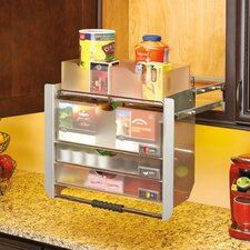 Universal Wall Cabinet Pull-Down Shelving System
