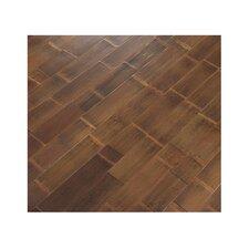 "5"" Solid Bamboo Hardwood Flooring in Natural Skin"