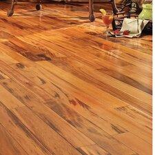 "5"" Engineered Brazilian Tigerwood Hardwood Flooring in Natural"