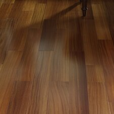"5"" Engineered Brazilian Teak Hardwood Flooring in Natural"