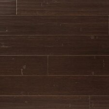 "3-3/4"" Solid Bamboo Hardwood Flooring in Coffee"