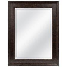 Marbled Bronze Beveled Wall Mirror
