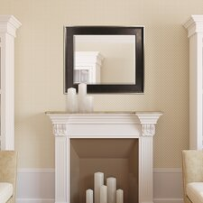 Two-Tone Champagne/Bronze Slope Beveled Mirror