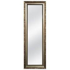 Romantic Champagne and Bronze Over the Door Mirror