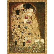 La Baiser by Gustav Klimt Tapestry