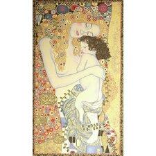 De La Femme by Gustav Klimt Tapestry