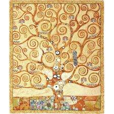 Tree of Life Close by Gustav Klimt Tapestry