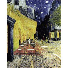 Café Terrace at Night by Van Gogh Tapestry