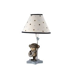 Monkey Fabric Empire Lamp Shade