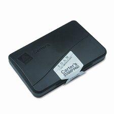 Foam Stamp Pad, 4.25w x 2.75d, Black (Set of 5)