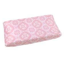 Heart of Pink Changing Pad Cover