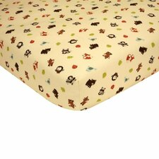 Friends Crib Fitted Sheet
