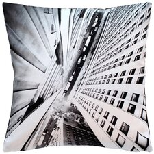 Zierkissen Vertical City aus 100% Baumwolle