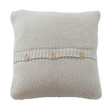 Zierkissen Button Knit