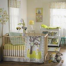 Animal Tree 4 Piece Crib Bedding Set