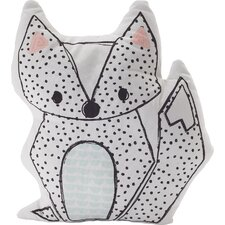 Sparrows Fox Throw Pillow