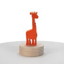 Giraffe Wood Night Light