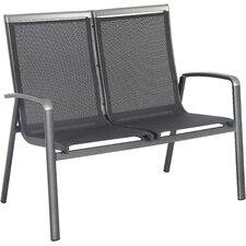 2-Sitzer Gartenbank Forios aus Metall