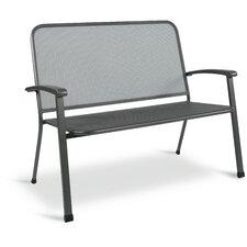 2-Sitzer Gartenbank Pilo aus Stahl