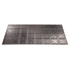 Traditional 10 4 ft. x 2 ft. Glue-Up Ceiling Tile in Galvanized Steel