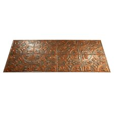 Traditional #2 4 ft. x 2 ft. Glue-Up Ceiling Tile in Copper Fantasy
